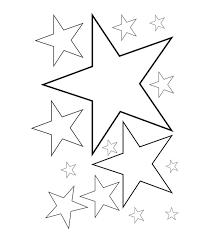 Tổng hợp các bức tranh tô màu ngôi sao đẹp cho bé - Vector Free