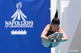 chinese divers collect three golds on