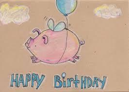 Pin Van Raquel Degamonal Op When Pigs Fly Verjaardagskaarten