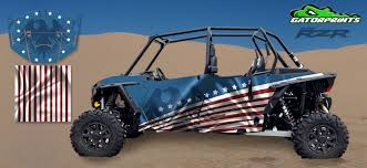 Polaris Rzr Xp 4 1000 Decal Kits Usa American Flag Design
