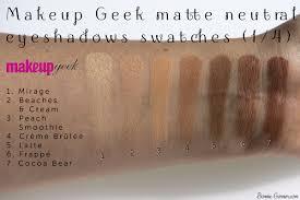 makeup geek frappe latte saubhaya makeup