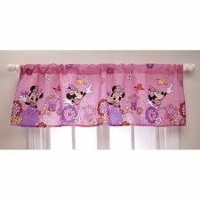 Disney Minnie Mouse Fluttery Friends Window Valance Toddler Girls Bedroom Pink Ebay