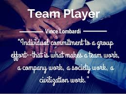 team player individual commitment to
