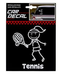 Tennis Car Decal Best Price And Reviews Zulily