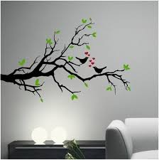Love Birds On An Olive Tree Branch Vinyl Decal Sticker Wall Etsy