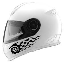 Checkered Flame Vortex Auto Car Racing Motorcycle Helmet Decal And Graphics Waterproof Unique Fa365 Car Stickers Aliexpress