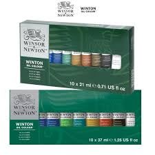 winton oil paint sets by winsor