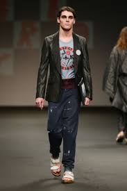 RJ Mitte (A.K.A. Walt Junior of Breaking Bad) Models in Vivienne Westwood  Show | Glamour