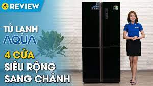 Tủ lạnh Aqua Inverter 456 lít: sang chảnh, 2 ngăn rau củ tiện dụng ...