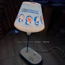 Đèn ngủ và đèn học để bàn ghim điện hình Doremon màu xanh dành cho trẻ em  và các bé - 249DORX7091