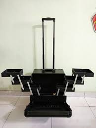 makeup case trolley bag with wheels