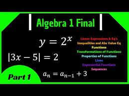 linear equations algebra i