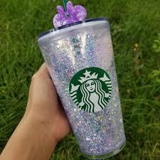 Starbucks Accessories Custom Unicorn Glitter Tumbler Poshmark