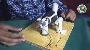 student build a ac generator you