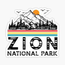 National Park Stickers Redbubble