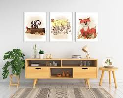 Printable Wall Art The Forest Nursery Printable Wall Art Kids Room Decor Sweet Kids Print Forest By Petitcreaciones Catch My Party