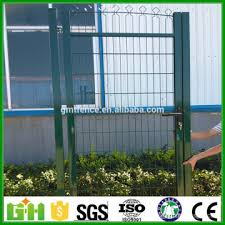 Hot Sale New Design Iron Fence Gate Retractable Fence Gate Wire Fence Gate China Manufacturer