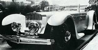 Bild / Foto: Grossartig geformt, der Bucciali TAV 30 (1930) aus ...
