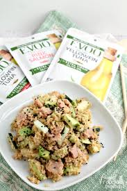 Spicy Tuna Roll Quinoa Salad