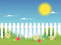 Vector Picket Fence Background Textures Backgrounds