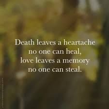 quotes about losing a loved one those sad departures