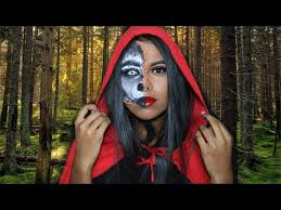 red riding hood makeup and hair