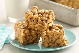 no bake peanut er cereal bars