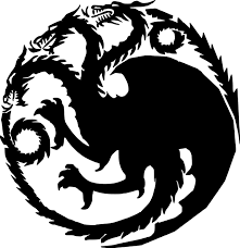 House Targaryen Vinyl Sticker Sigil Game Of Thrones Dragons Daenerys Die Cut Decal Minglewood Trading