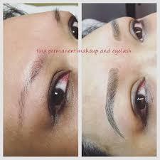 tina permanent makeup eyelash