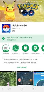 Pokemon Go is not compatible with my friends Note 8 running android 8.0 :  TheSilphRoad