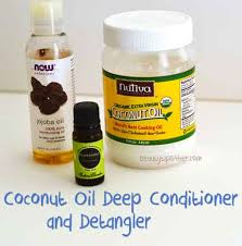 diy homemade deep conditioner and