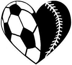 Soccer Softball Heart Car Or Truck Window Decal Sticker Rad Dezigns Softball Car Decals Softball Decals Soccer Mom Decal