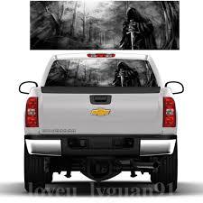 Grim Reaper Death Forest Rear Window Graphic Sticker Car Truck Suv Van Decal Kip Suv Rear Tail Windshield Sticker Aliexpress Com Imall Com