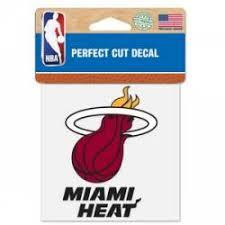 Miami Heat Stickers Decals Bumper Stickers