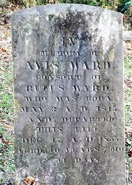 Avis Morse Ward (1815-1855) - Find A Grave Memorial