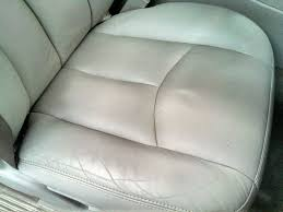 clean a dirty leather car seat