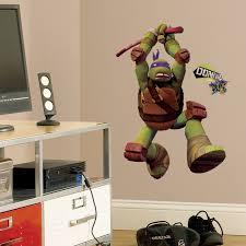 Teenage Mutant Ninja Turtles Don Peel And Stick Giant Wall Decals Teenage Mutant Ninja Turtle Birthday Turtle Wall Decals Donatello Ninja Turtle