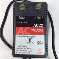 Zareba Acc2 Electric Fence Controller 2 Mile Range Pet Animal 115v04j M15sales Com