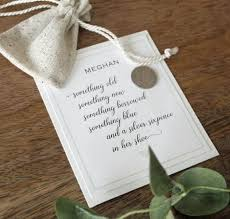 sixpence wedding poem coin gift for