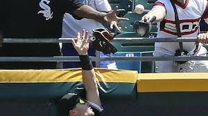 Adam Engel Loses Glove Over Outfield Wall While Trying to Rob Home ...
