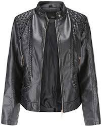 ularma leather jacket women petite faux