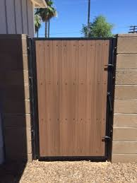 Side Yard Gates Safe Secure Arizona Pool Fence