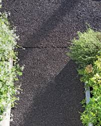 recycled rubber walkway rubber garden