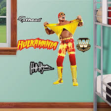 Where Can You Buy Fathead Wwe Hulk Hogan Real Big Wall Decal Michell Gaines Ods