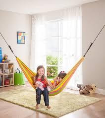 14 Fun Furniture Pieces For Your Kids Playroom Indoor Hammock Hammock In Bedroom Kids Hammock