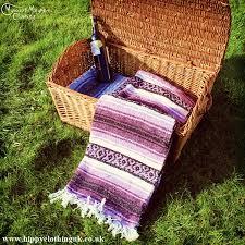 mexican falsa blanket rug throw