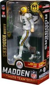 Aaron Rogers Green Bay Packers Madden 19 Series 1 Figure 787926700268 | eBay