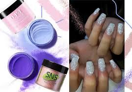 dip powder sns nail colors