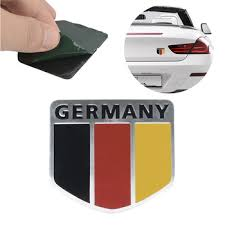 100 New Car Stickers German Flag Racing Emblem Badge Car Stickers And Decals Car Decal Personalized Custom Stickers Rebiredfijimina44