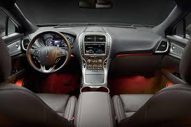 2016 lincoln mkx interior photos carbuzz